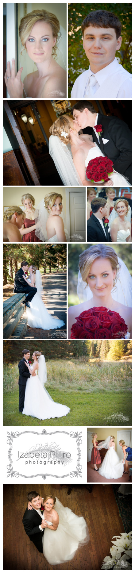 Drew+Michael got married in Thunder Bay, Ontario and held their reception at The White Fox Inn